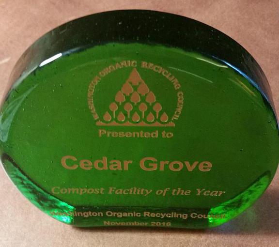Cedar Grove Aaward